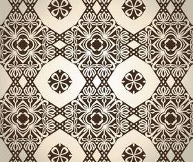 Elegant seamless pattern 1 shiny vector