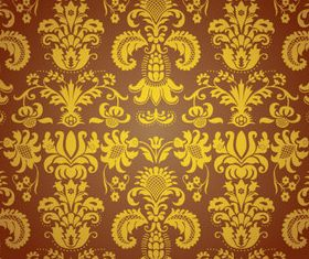 Elegant seamless pattern 2 shiny vector