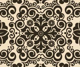 Elegant seamless pattern 3 shiny vector