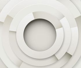Circle background 3 vector