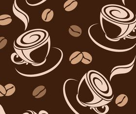 Coffee Vintage background 1 vector