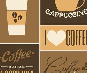 Coffee Vintage background 2 vector