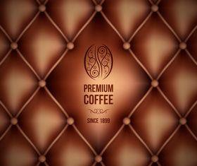 Coffee Vintage background 3 vector