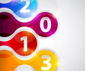 Shiny number background vectors material