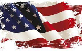 American Flag 3 vector