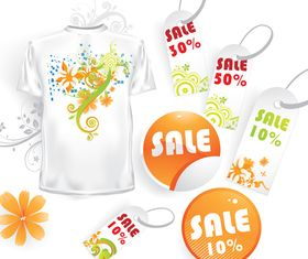 Promotions tags vector