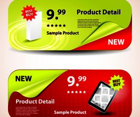 Product sale banner 1 vector