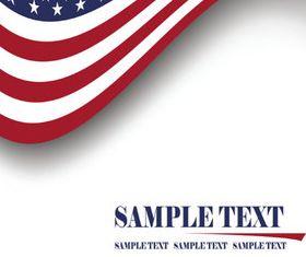 American Flag 1 vector