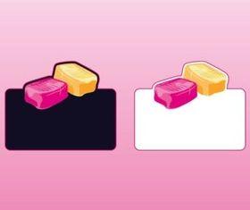 Candy Logos vector