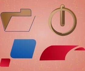 Minimal Logo Pack vectors material