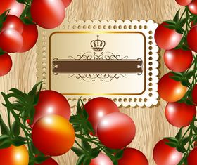 Vivid Tomato background 2 vector