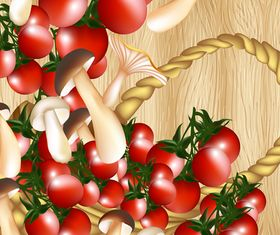 Vivid Tomato background 3 vector