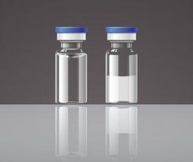 Glass Drug Bottle vector