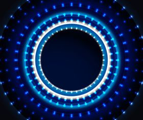 Blue Aperture background vector