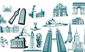 Landmark Architecture vector