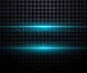 Blue Halation background 3 vector