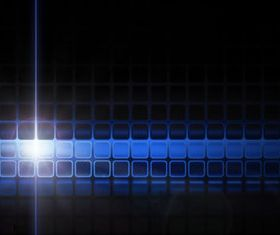 Blue Halation background 5 vector