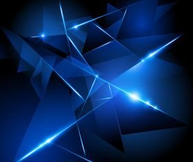 Blue Halation background 7 vector