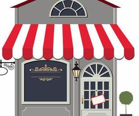Cartoon restaurant 6 vector graphics