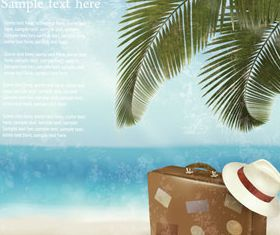 Summertime background 3 vector