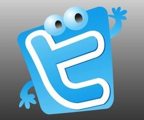 Twitter Character vector graphic