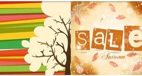 Autumn Backgrounds vector set