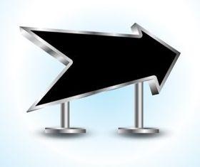 3D Arrow vector