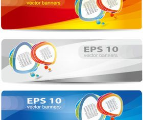 Web design elements banner 1 vector material