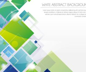 White Abstract background art vector