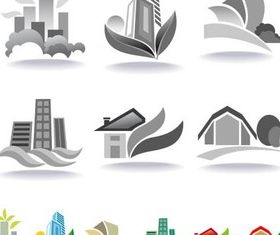 Various Home Logo design vector