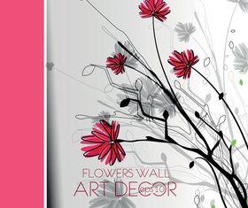 Hand Drawn Flower 1 vectors
