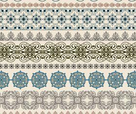 Vintage Border floral vector graphics