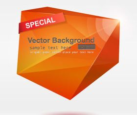 Color Origami abstract background 2 vector