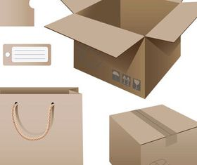 Package template 17 vector