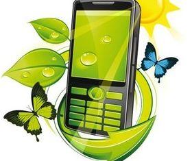 Mobile phone 1 set vector