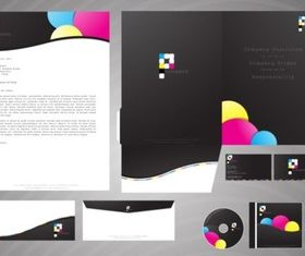 Corporate Branding Package vector