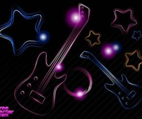 Neon Party design vector