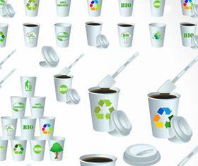 Paper Cups 2 vector