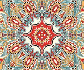 Vintage Decorative pattern 1 vector