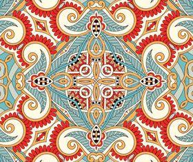 Vintage Decorative pattern 2 vectors