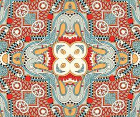 Vintage Decorative pattern 4 vector