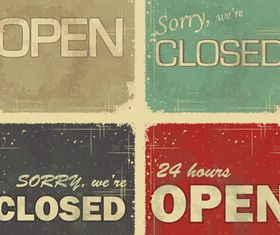 Open and Closed Labels vector