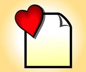 Favorite File design vector