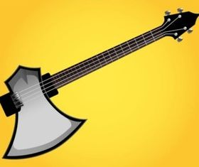 Axe Guitar vector