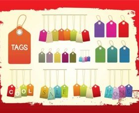 Tag vector graphic