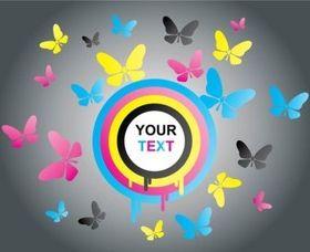 Cool Butterflies vectors graphics