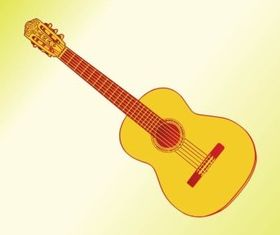 Acoustic Guitar Graphics vector graphics