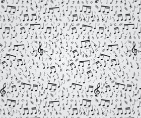 Musical Notes Pattern vectors graphics
