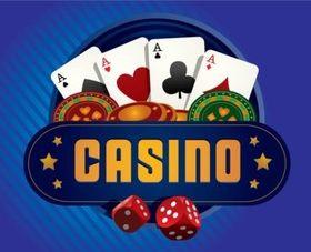 Casino creative vector