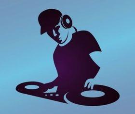 DJ Graphics vector